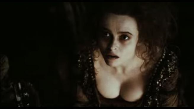 Helena Bonham Carter�s boobs in Sweeney Todd